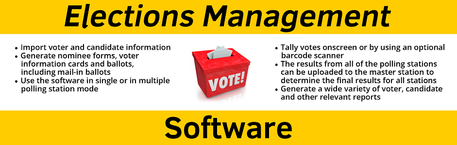 Elections Management Software